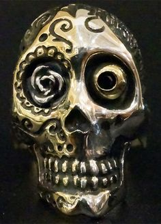 #galcia  #skull #mexico  #silver #ring #accessory #backlash #blackdiamond