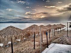 Beach view in Hanioti - #Halkidiki #Hanioti #Travel