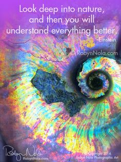 """Look deep into nature, and then you will understand everything better."" -Albert Einstein #crystals"