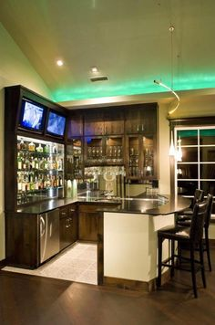 Elegant Basement with Bar