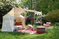 Luxury Edwardian style Swinging Garden Sofa