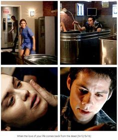 Coming back from the dead Teen Wolf Stydia, Teen Wolf Mtv, Teen Wolf Funny, Teen Wolf Memes, Teen Wolf Boys, Teen Wolf Dylan, Teen Wolf Cast, Dylan O'brien, Malia Tate