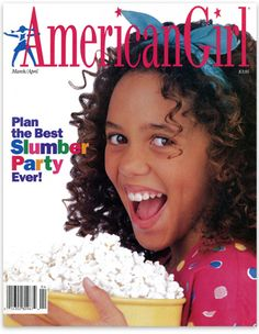 American Girl Magazine... because of this mag I had the BEST SLUMBER PARTY EVER! // I HAD THIS ISSUE