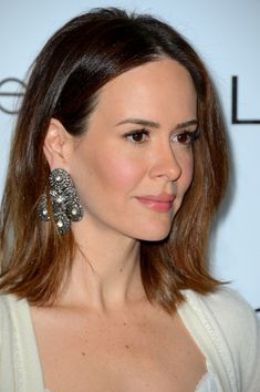 Sarah Paulson- I've been fascinated by her since I saw her on Law & Order. Great crier. Beautiful. I even love her lisp.