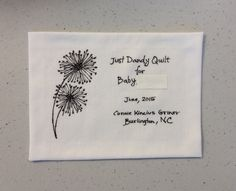 Quilt Labels, Baby Quilts, Baby Afghans, Baby Blankets, Kid Quilts