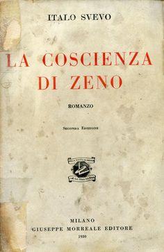 SVEVO Italo, La coscienza di Zeno. Milano,  Giuseppe Morreale,  1930 - Seconda edizione (2nd Edition)