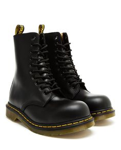 DR MARTENS   Limited Edition Leather Yohji 10 Eye St Boot