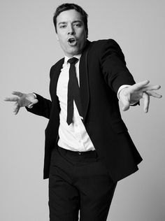 Jimmy Fallon now he is adorable and very talented and the best late night show on for sure. Jimmy Fallon, Jimmy Jimmy, Saturday Night Live, Beautiful Men, Beautiful People, Naturally Beautiful, Celebrity Portraits, Raining Men, Comme Des Garcons