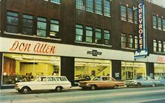 Don Allen Chevrolet, Pittsburgh, PA by aldenjewell, via Flickr