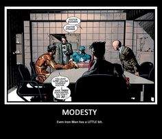 You know you're pretentious when Tony Stark has to call you out...