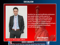 Ben Shapiro on socialism