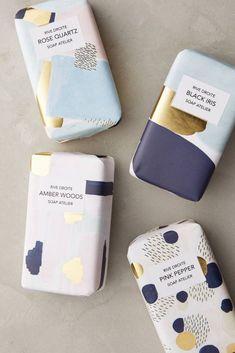 Shop the Artist Atelier Bar Soap / Soap packaging design / brand package / design inspiration / branding / дизайн упаковки Web Design, Logo Design, Design Poster, The Design Files, Label Design, Design Agency, Print Design, Soap Packaging, Pretty Packaging