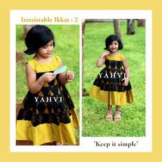 Simple frocks ethnic