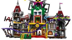 Massive LEGO Joker Manor Building Set Revealed