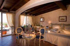 Colonna Resort in VIP Porto Cervo. In case 7 swimming pools, a magnificent SPA, the gourmet restaurant are too boring, you can always stay in one of the hotel's luxury suites :)