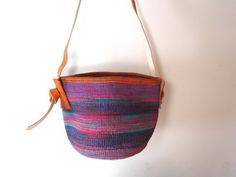Ikavu Sisal Market Basket  Woven African Bag with a by Ikavu