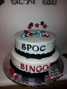 Bingo cake for St paul of the cross.