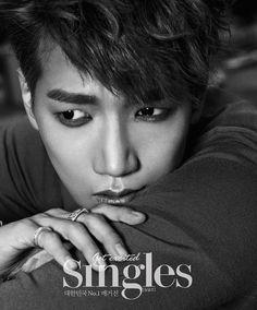 Jun.K - Singles Magazine June Issue '14