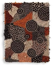 Amy Eisenfeld Genser Dreamy art of textures, patterns, and grids by Amy… Quilled Creations, Clay Creations, Didgeridoo, Art Textile, Clay Design, Paperclay, Pattern Paper, Paper Patterns, Australian Art