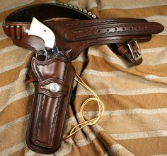 Typical western rig with simple border tooling tastefully done.