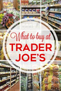 From food to flowers to wine -- what to buy at Trader Joe's!