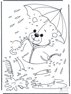teddy bear connect the dot Fish Activities, Activities For Kids, Happy Teddy Bear Day, Dot To Dot Puzzles, Dot To Dot Printables, Hidden Pictures, Connect The Dots, Math For Kids, Kids Writing