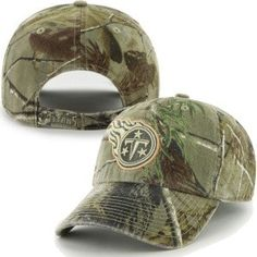 Tennessee Titans Clean Up Camouflage Adjustable Hat at Sport Seasons
