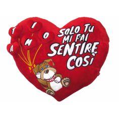 LOVVY DOGGY CUSCINO CUORE CON CUORIC.
