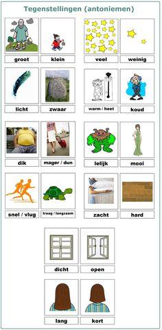 Woordenschat : tegenstellingen (antoniemen)