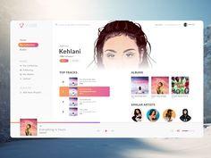 Desktop Music player