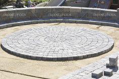 paver kits for circular patios