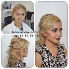 vellesa.salon te asesora en como lucir ! #vellesasalon #judithluna #janelly #makeup #hair #cortes #peinados #maquillajes #haircolor