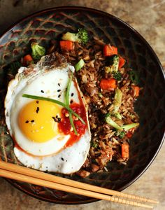 Easy Fried Rice--See how you can use leftover rice to create this delicious dish.