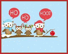 Decorative Christmas Owl Figurine Set | zulily | I am obsessed ...