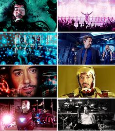 Colors of Tony Stark