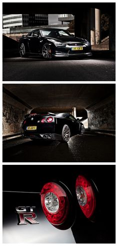 The all-Mighty Nissan GT-R Black Edition #AutoAwesome