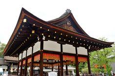 Bu-Den, Shimogamo Jinja Shrine, Kyoto / 下鴨神社・舞殿(京都)