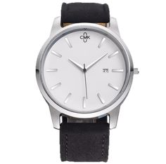 2018 CMK Military Leather Business Quartz Watches Men Top Brand Luxury Sport Casual Calender Wristwatch Relogio Masculino clock Simple Cheap Watches outfit accessories from Touchy Style store Cheap Watches, Best Watches For Men, Casual Watches, Black Watches, Men's Watches, Mens Watches Leather, Womens Fashion Online, Sport Casual, Fashion Brand