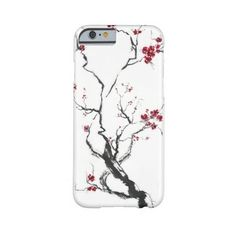 Cherry Blossom Case Barely There Iphone 6 Case ($40) ❤ liked on Polyvore