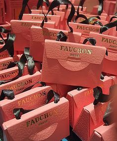 What is Fauchon, you ask? Fauchon is a traiteur in Paris. A traiteur is basically a retailer of fine foods, that are mostly ready to eat (a fancy grocery/deli of sorts). Fauchon appears to focus a little more on the sweet side.