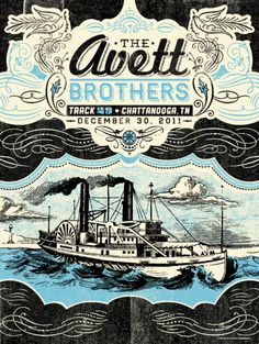 The Avett Brothers Poster