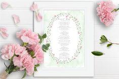 First dance lyric print with oval leaves design Unique Wedding Invitations, Wedding Stationery, First Dance Lyrics, Wedding Story, Classic Elegance, Leaf Design, Most Beautiful, Wedding Inspiration, Wall Art