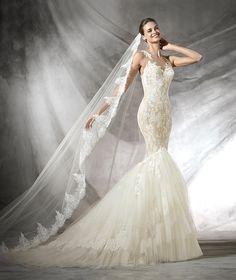 Tarifa, vestido de novia original estilo sirena