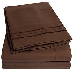 1500 Supreme Collection Bed Sheets - 4 Piece Bed Sheet Set Deep Pocket HIGHEST QUALITY