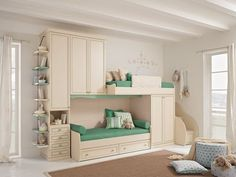 76 Cute Kids Bedroom Furniture Bunk Beds Ideas - About-Ruth Bunk Beds For Girls Room, Bunk Beds With Stairs, Kid Beds, Girls Bedroom, Loft Beds, Cute Beds For Girls, Dream Bedroom, Childrens Bedroom, Kid Bedrooms