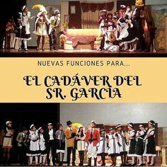 Via @tjirehproducciones Fue increíble para todo nuestro equipo apreciar como el prestigioso @teatrojuares estuvo agotado en las funciones que se hicieron de la tragicomedia El Cadáver del Sr. García por lo que es un placer invitarlos a todos a las NUEVAS FUNCIONES para esta particular obra teatral que dejó encantado al público entre risas y sorpresas. . . FECHAS: SÁBADO 21 de Octubre y SÁBADO 11 de Noviembre. HORARIO: 7pm. LUGAR: Auditorio Julio Perez Rojas (Gobernación).   Si estás…