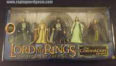 Lord of the Rings - The Coronation Gift Pack https://www.flickr.com/photos/ragingnerdgasm/sets/72157630576280554/