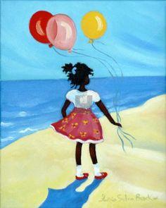 """Three Balloons"" by Janice Sylvia Brock"