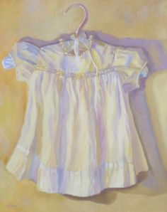 Baby Dress, painting by artist Pam Holnback