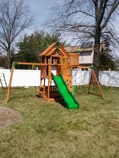 Leisure Time Skyfort Playset from Sam's Club installed in North Brunswick, NJ.